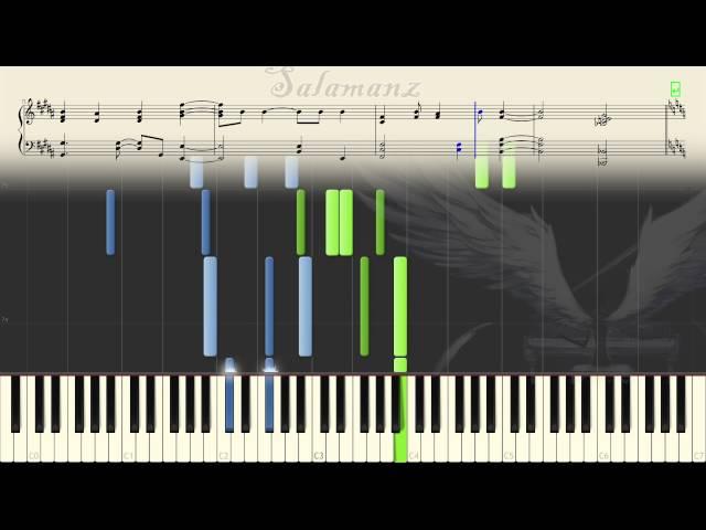 [Deemo] V.K克 - Wings of Piano (Piano Tutorial + MIDI Download)