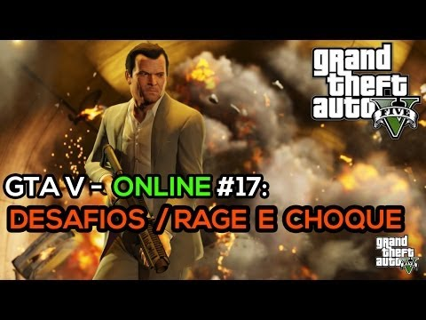 GTA V online #17: Bicudas gratuitas // Choque // Desafio do inscrito \o/