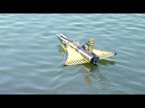 rc seadart (failed takeoff)