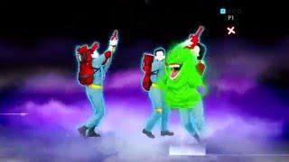 Os Caça Fantasmas Ray Parker Jr . Just Dance 2014 Nintendo Wii