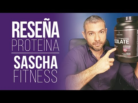 Reseña Proteina Sascha Fitness - ¿Es buena o mala? -¿La proteina engorda?