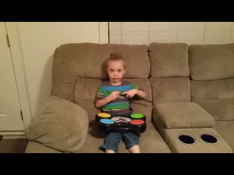 Eli's World Toy Review: Electric Drums