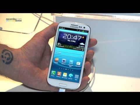 Samsung Galaxy S3 hands-on video