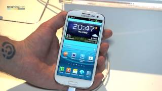 Samsung Galaxy S3 hands-on video