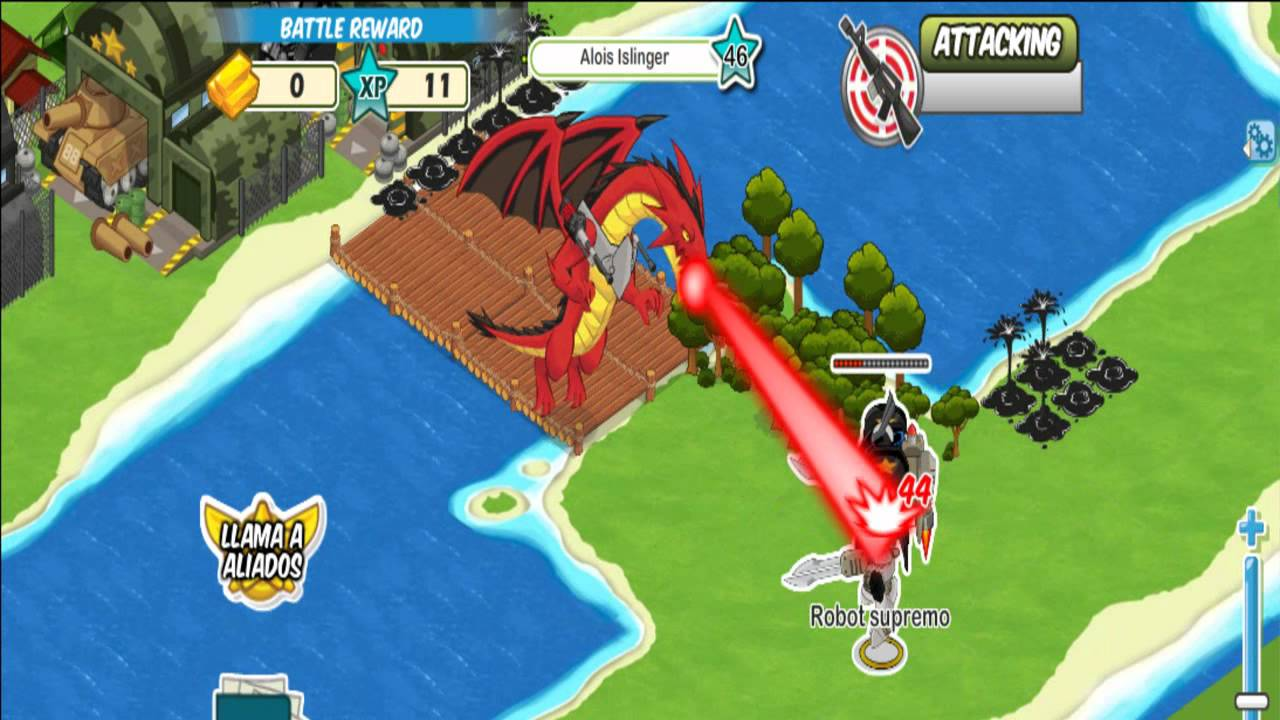Dragons in Social Wars Social Wars Robot Supremo vs