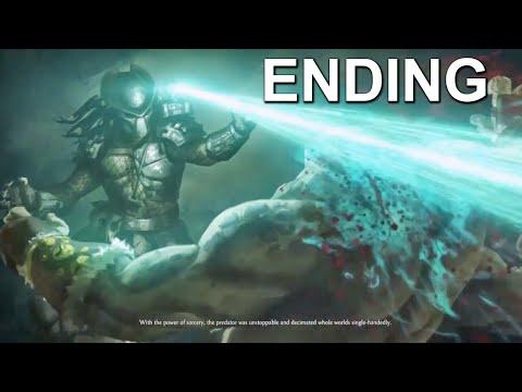 Mortal Kombat X Predator Ending