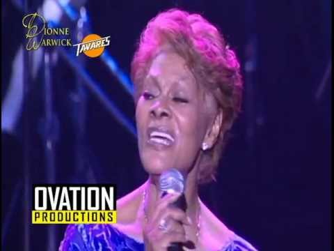 Dionne Warwick and Tavares Philippine Tour 2013