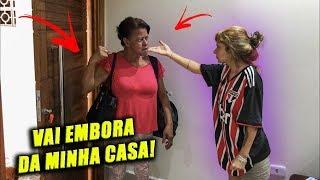 EXPULSEI A MÃE DO MEU NAMORADO DE CASA!!