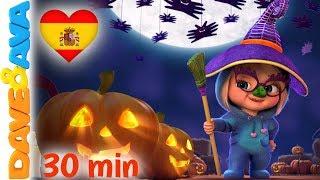 🍭Si Eres un Monstruo y lo Sabes   Halloween para Niños   Canciónes de Halloween de Dave y Ava 🎃