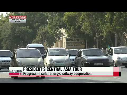 Achievements from President Park's Central Asia tour