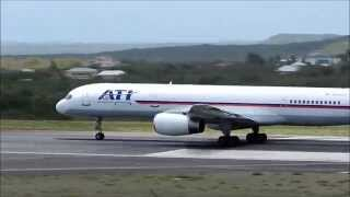 ATI Air Transport International Boeing 757-200F Departing V.C Bird Int'l 1080p HD