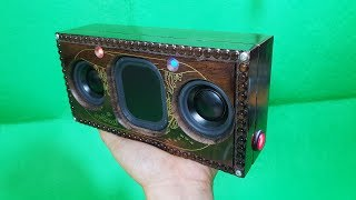 Building Bluetooth Speaker with Wooden Makeup Box