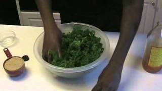 How to Make Kale Chips - Using the Nesco Food Dehydrator