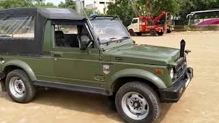IND 2011 4*4 Ex army Gypsy Euro3 67000 Kms Olive Green Available -Whats Up Abilash 9886679617