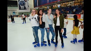 Ice skating with friends (yes i have them)