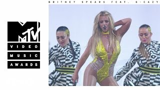 Смотреть клип Britney Spears – Make Me... (live) ft. G-Eazy