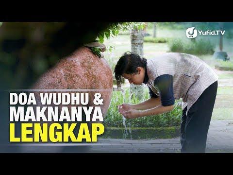Doa Wudhu : Bacaan Wudhu dan Maknanya - Doa Wudhu Lengkap - Poster Dakwah Yufid TV