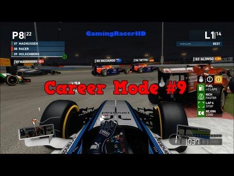 F1 2014 - Career Mode (Median Season 2) Race #9 - Bahrain Grand Prix (1080p HD)