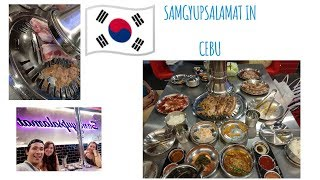 VLOG #2: MUST TRY!!!! Samgyupsalamat in Cebu! || Korean BBQ | Cebu's Best Food |