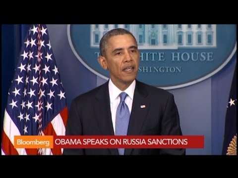 Obama: U.S. Expanding Scope of Russian Sanctions