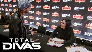 Sonya Deville meets her LGBTQ+ fans at WrestleMania Axxess: Total Divas, Nov 12, 2019