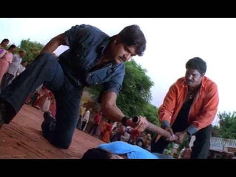 Nagarjuna Hit Action Scenes - Meri Jung - One Man Army video