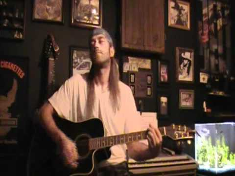 Travis Tritt Here's A Quarter (Call Someone Who Cares) Acoustic Cover 8-14-10