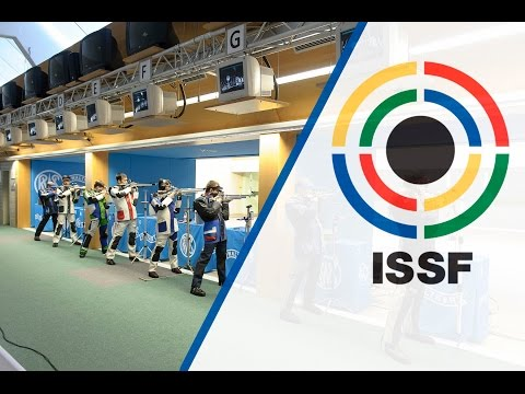Finals 10m Air Rifle Men - 2015 ISSF Rifle and Pistol World Cup in Munich (GER)