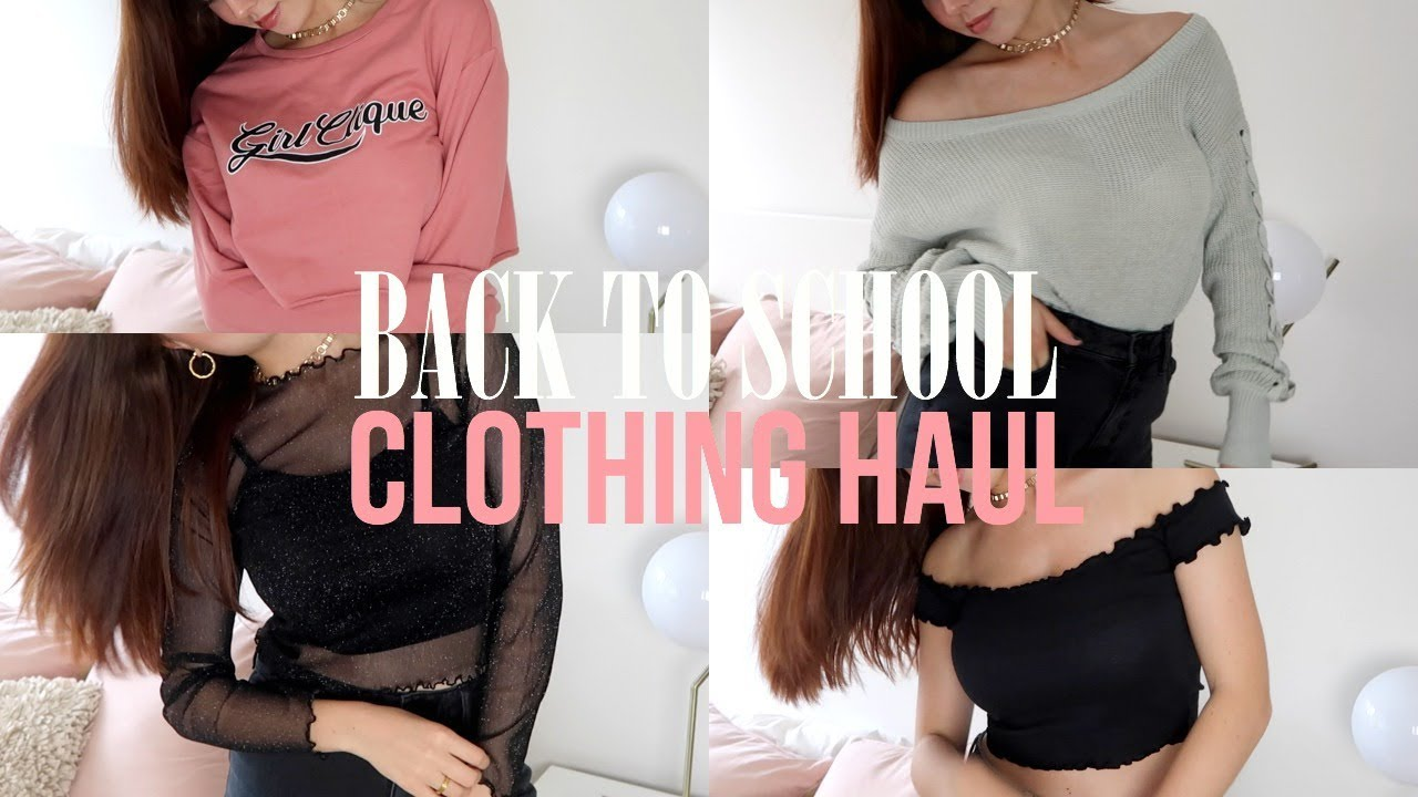 Clothing haul  Try on  Day Dreamer Teen