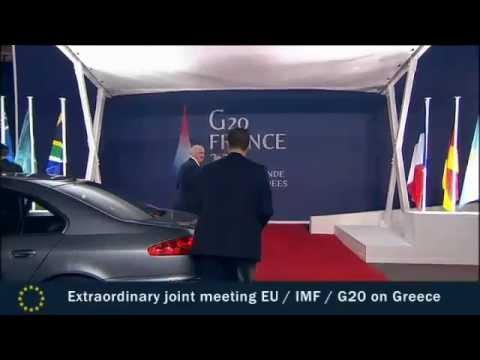 José Manuel Barroso at EU/IMF/G20 meeting on Greece and at the G20 Summit