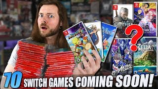 70 GREAT Upcoming Games For The Nintendo Switch!