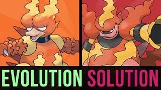 An Evolution Solution: Magmar or Magmortar? (ft. TheAuraGuardian)