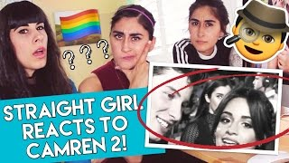 STRAIGHT GIRL REACTS TO CAMREN 2! (Fifth Harmony)   Jealous Moments