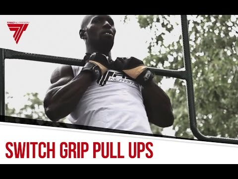 Switch grip pull-ups | Street Workout Training | Hannibal For King
