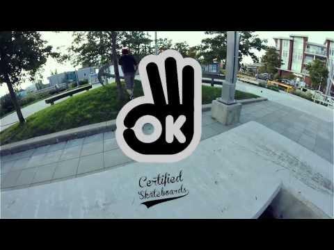 OK Skateboards edit/ad with Lanny Deboer