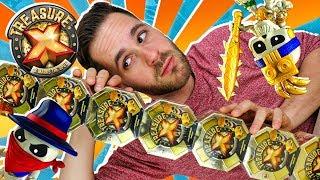 Treasure X Series 1 UNBOXING 7 CAJAS SORPRESA | Mega UNBOXING Treasure X Hunting en Pe Toys