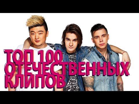 ТОП-100 отечественных клипов по просмотрам [ Октябрь 2017 ]