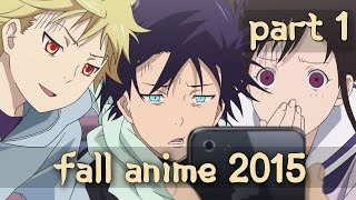 Top Upcoming Fall Anime 2015 (1st Part)