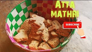 Masala Khari in Kadahi With Whole wheat flour  Oats Atta Mathri [Healthy Lockdown Recipe]