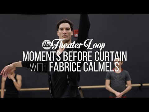 Moments Before Curtain: Fabrice Calmels