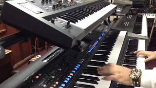"Theme From ""The Fox"" -Big Genos 88 + Roland VR 09 - Omar Garcia"