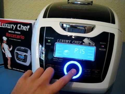 Robot de cocina con voz luxury chef 3500 - Chef titanium con voz ...