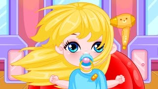Baby Barbie Game Movie - Baby Barbie Hairdresser - Baby Games - Dora the Explorer