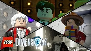LEGO Dimensions - New Doctor and TARDIS Screenshots