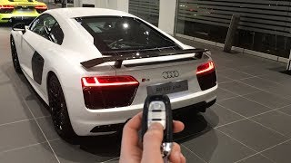 Audi R8 V10 Plus Matte White Audi Exclusive: In Depth, Details, Interior and more