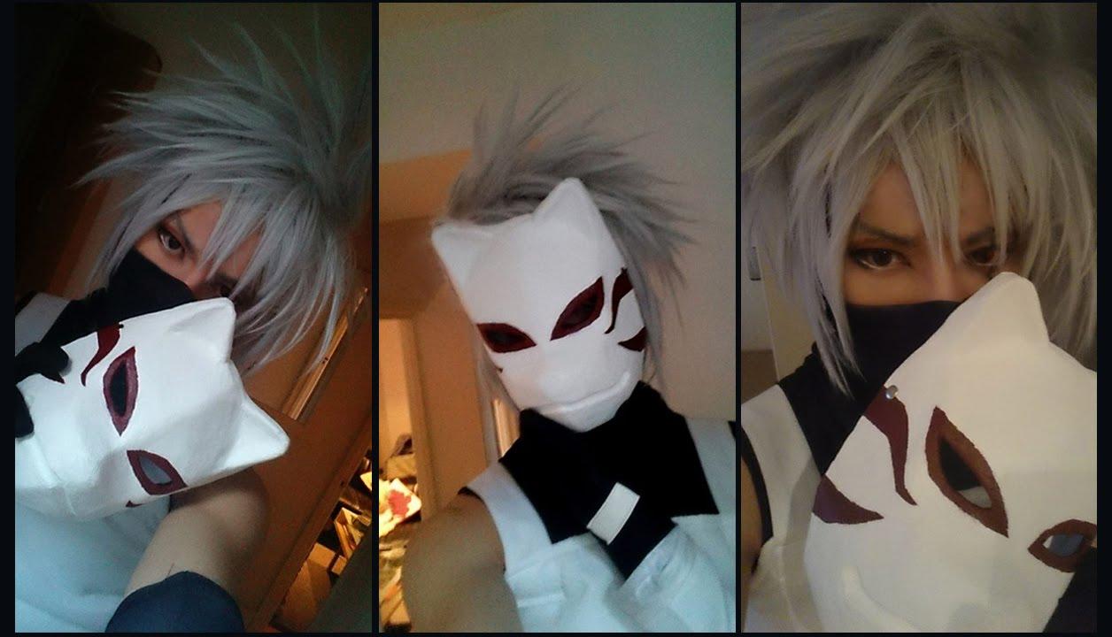 Kakashi Mask Tutorial How to Make a Kakashi Mask