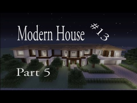 Lets make a modern house part 5 in minecraft xbox 360 for Modern house minecraft xbox 360 edition