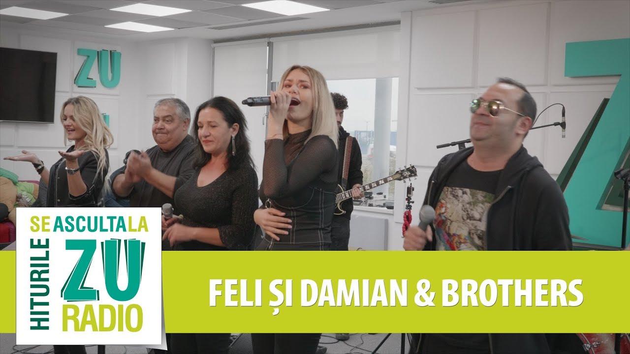 Feli & Damian Draghici - Un trandafir crește la firida mea (Live la Radio ZU)