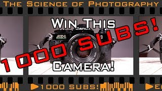 Film Camera Giveaway to Celebrate 1000 Subscribers! Win a Canon AE-1 Program 35mm SLR