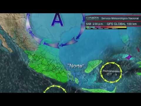 25 y 26 de octubre de 2014 Pronóstico del Tiempo
